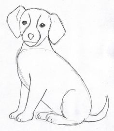 236x271 Dogs Drawings In Pencil For Kids
