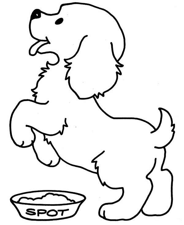 364x470 Coloring Page Of Dog Free Printable Pages For Kids 600x734 Endearing Draw A Puppy Puppies