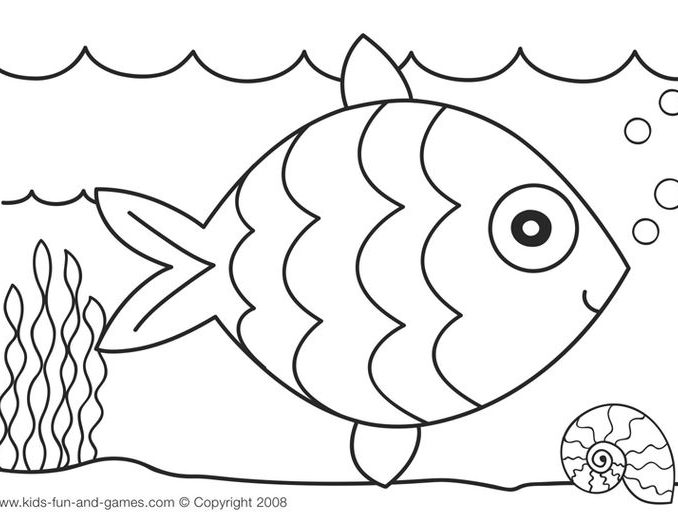 678x522 kids drawing pages coloring page