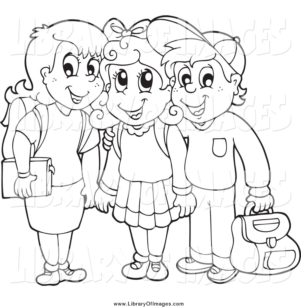 1024x1044 Child Drawing Clipart Black And White