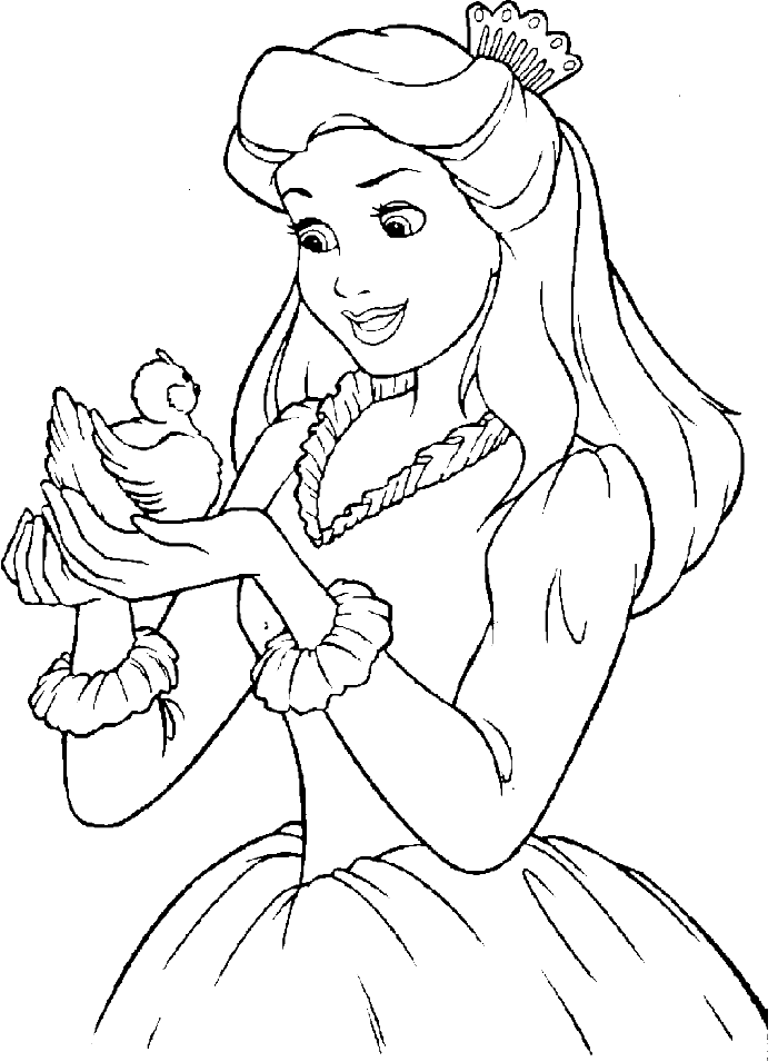 Kids Drawing Princess at GetDrawings