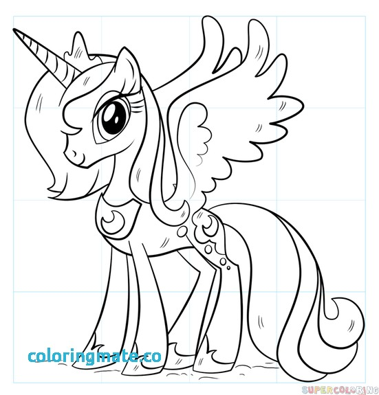 551x575 Princess Luna Coloring Page Best Of Free Printable Princess Luna