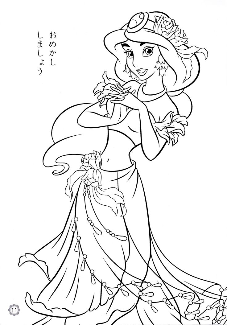 736x1054 Coloring Pages Draw Disney Characters Online For