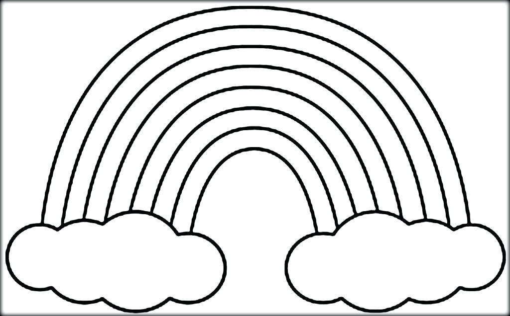 1024x636 Unlock Printable Rainbow Pictures Rainbows Coloring Pages Free