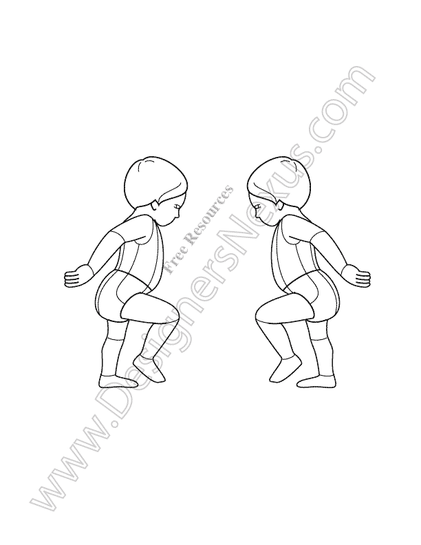 Kids Drawing Templates at GetDrawings.com | Free for personal use ...
