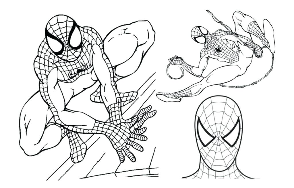 1024x657 Spiderman Coloring Pages For Kids Coloring Pages Print Online