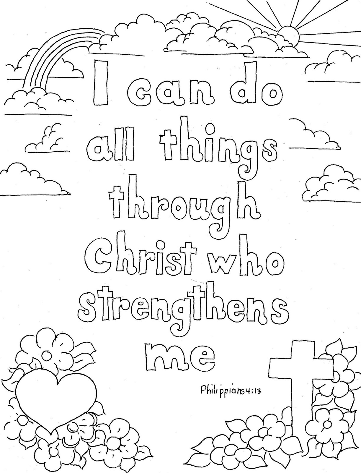 1223x1600 Coloring Pages For Kids By Mr. Adron Philippians 413 Print