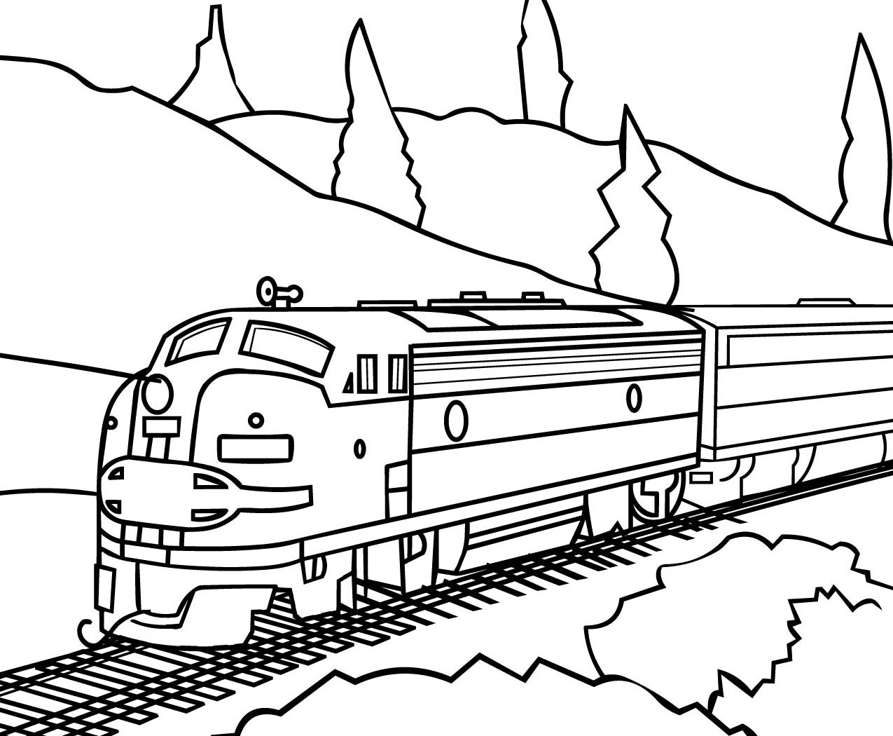 1275x1050 Coloring Polar Express Book Train Pages For Download