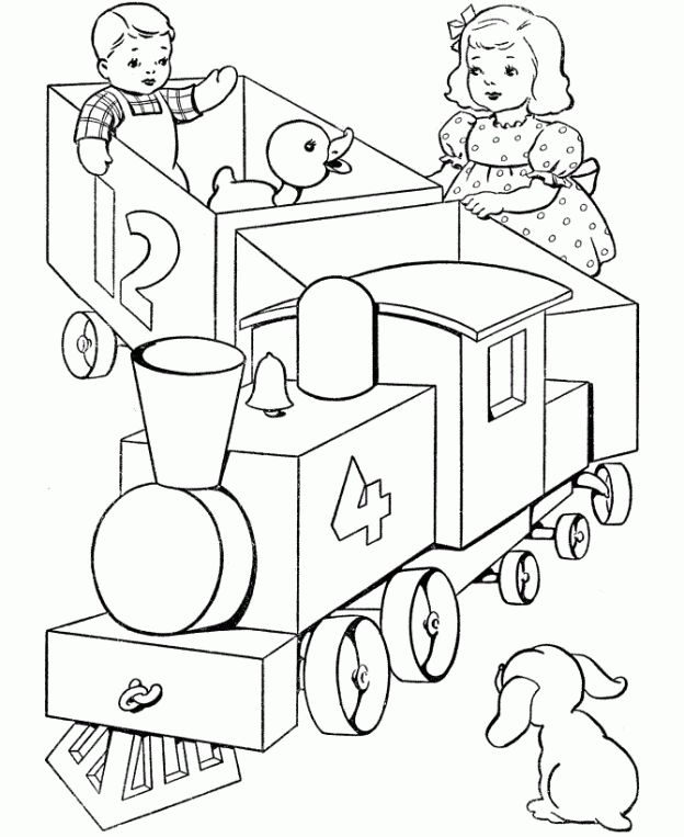 624x763 18 Best Drawing. Toy Trains Images On Toy Trains