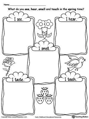 300x400 Kindergarten Drawing Printable Worksheets