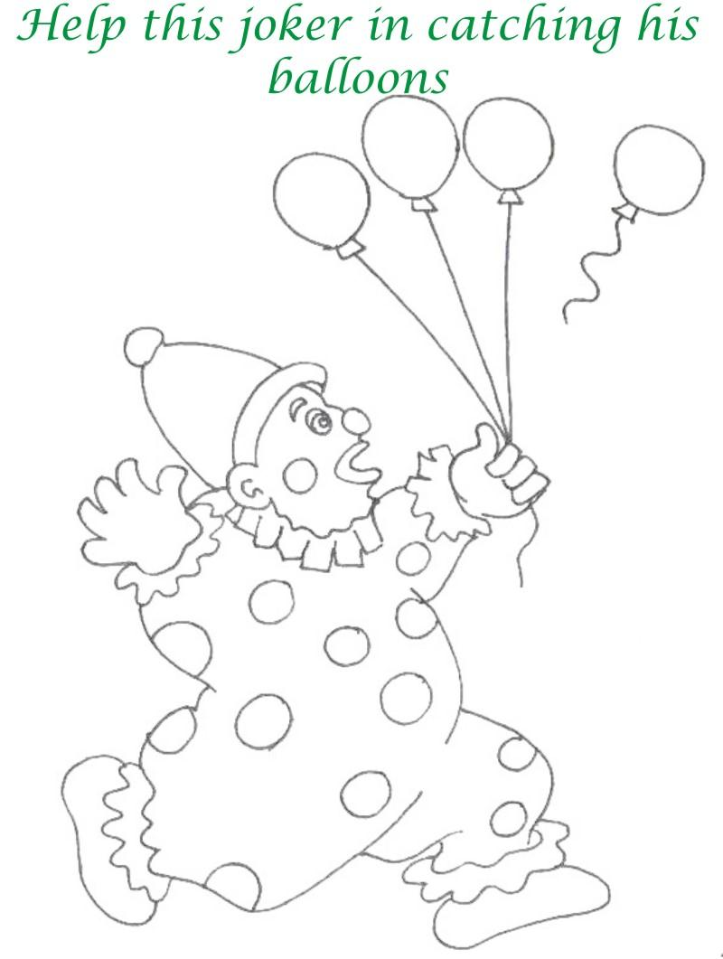 800x1061 Circus Printable Coloring Page For Kids 11