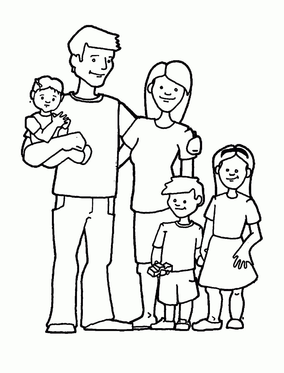 970x1274 Coloring Pages Of Families Coloring Pages Of Families Coloring