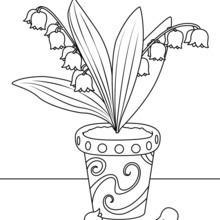 220x220 Flower Drawing For Kids, Coloring Pages, Kids Crafts