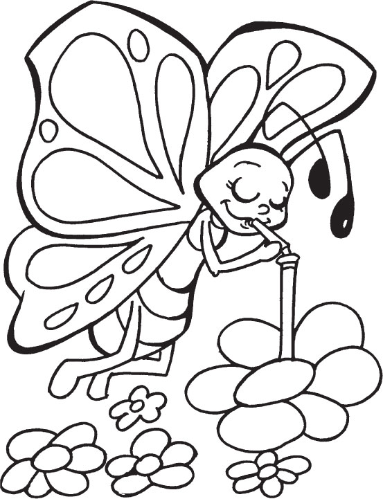 553x721 Free Printable Butterfly Coloring Pages For Kids To Funny Draw