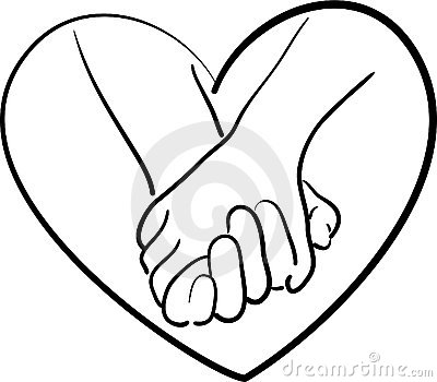 400x350 Friends Holding Hands Drawing Clipart Panda