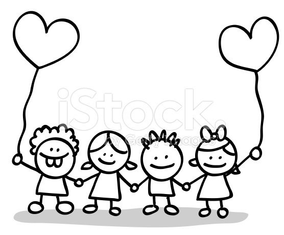 556x459 Kids Holding Hands Clipart Black And White Letters Example