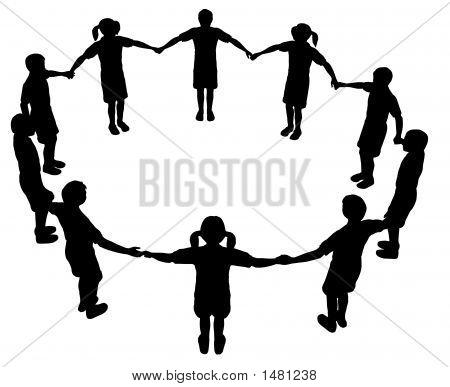 450x387 Children Circle 2 Image Amp Photo Bigstock
