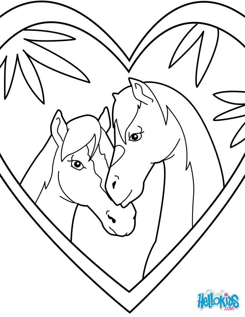 820x1060 Horse Coloring Pages, Drawing For Kids, Reading Amp Learning