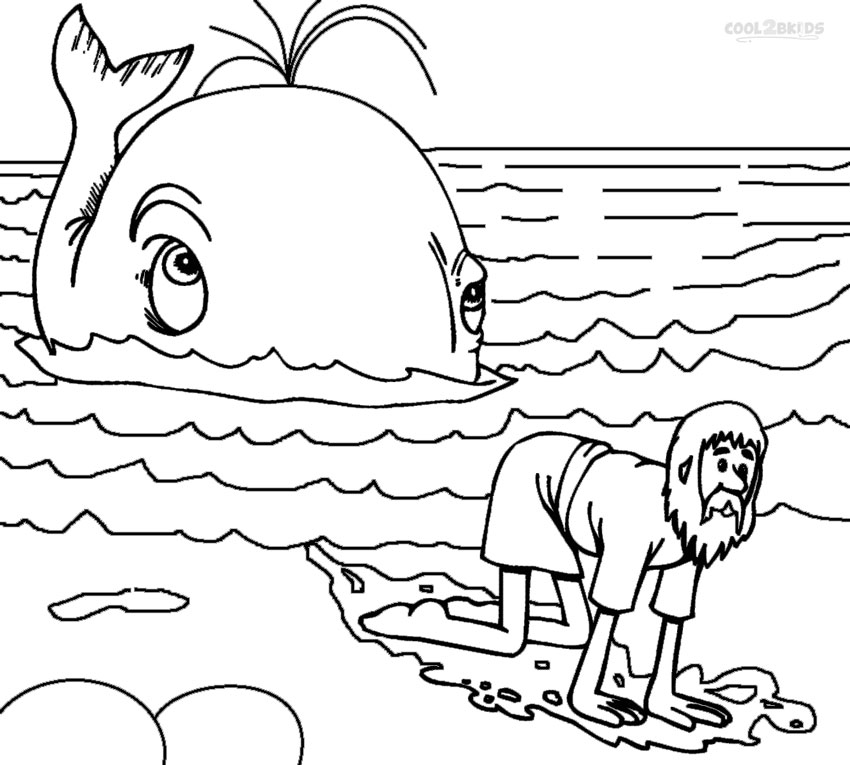 850x765 Pioneering Jonah Coloring Pages Extraordinary 12 In Line Drawings