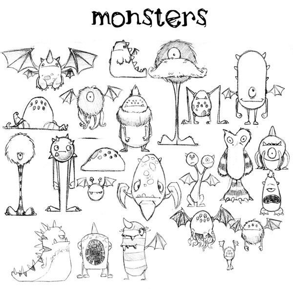 600x600 Monster Project (3d Modeling) By Jeff Harvey, Via Behance More