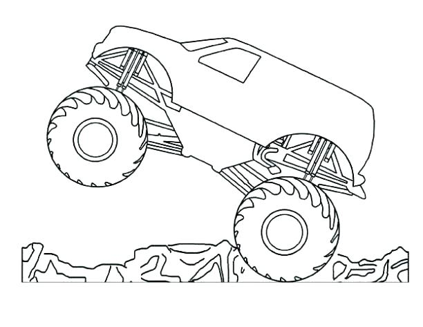 612x473 Monster Truck Coloring Book Pages And Monster Trucks Coloring