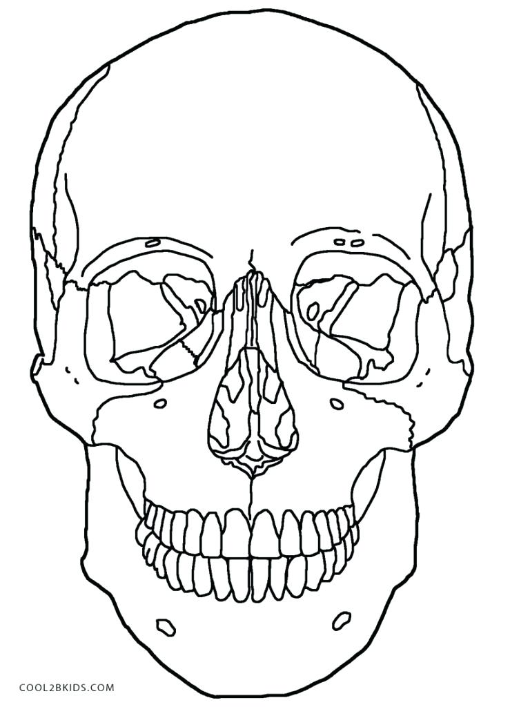 739x1024 Good Flaming Skull Coloring Pages Online Drawing For Kids How