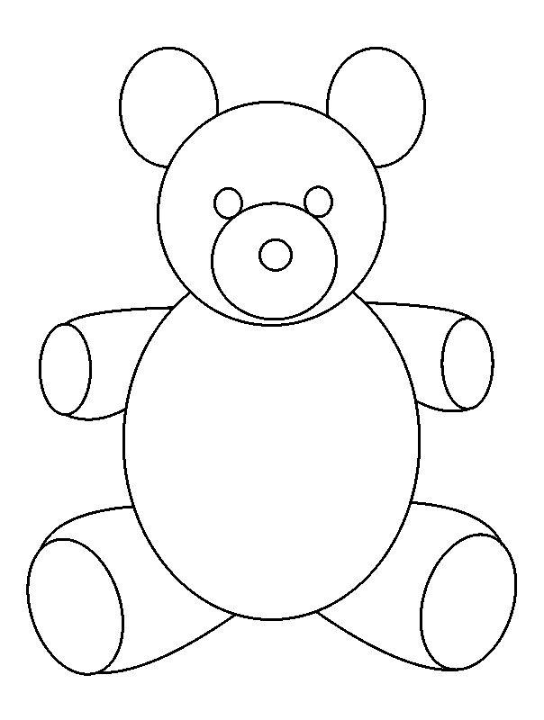 604x800 Simple Drawings For Kids How To Draw A Teddy Bear In Some Simple