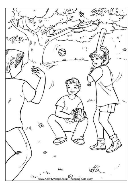 460x650 Children Playing Outside Coloring Pages Color Bros