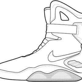 268x268 Coloring Pages Nike Shoes Kids Drawing And Coloring Pages