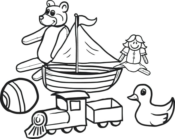 700x557 Coloring Toys For Kids Toy Story Coloring Page Free Online