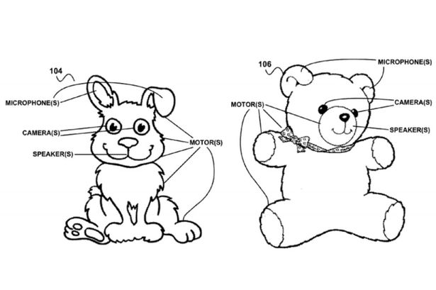 615x409 Google Designs Creepy Toys That Spy On Children