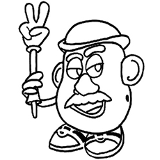 230x230 Top 20 Free Printable Toy Story Coloring Pages Online