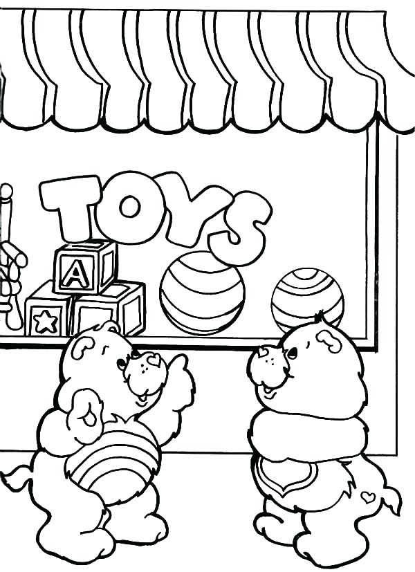 600x827 Stunning Amusing How To Draw A Care Bear Best Of Toys Shop