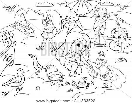 450x357 Children Swimming Beach Play Toys Image Amp Photo Bigstock