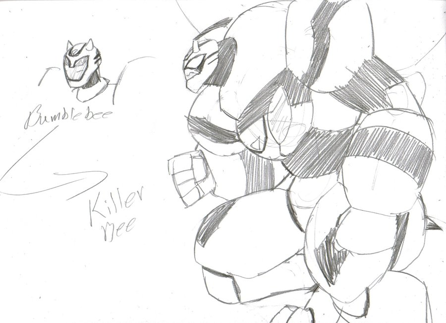 900x651 Bumblebee To Killer Bee By Spottedalienmonster