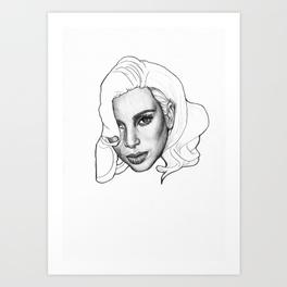 264x264 Kim Kardashian Art Prints Society6