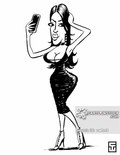 400x516 Kim Kardashian Cartoons And Comics