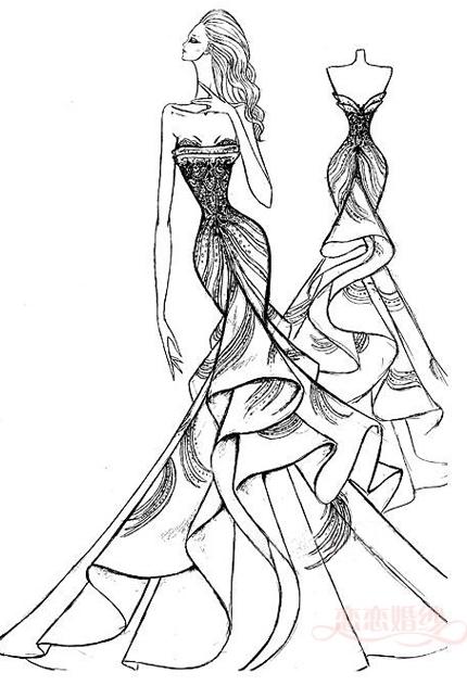 430x643 Pin By Lyn 369 On Fashion Design Sketch Fashion