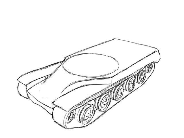 640x480 How To Draw An Amx 50 B!