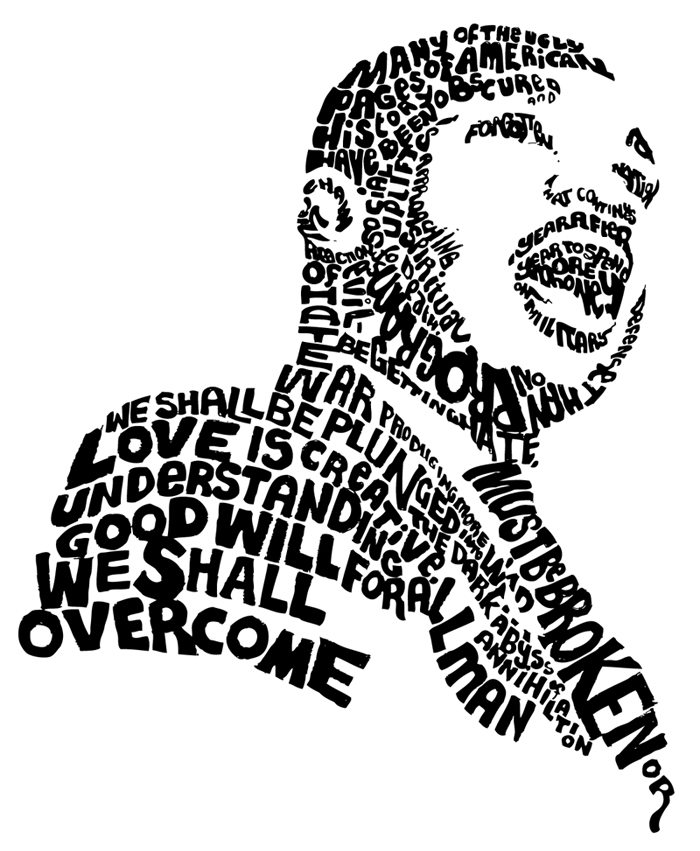 700x851 Martin Luther King I Have A Dream Clipart