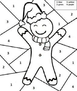 254x300 Christmas Free Printable Worksheets For Kindergarten Archives