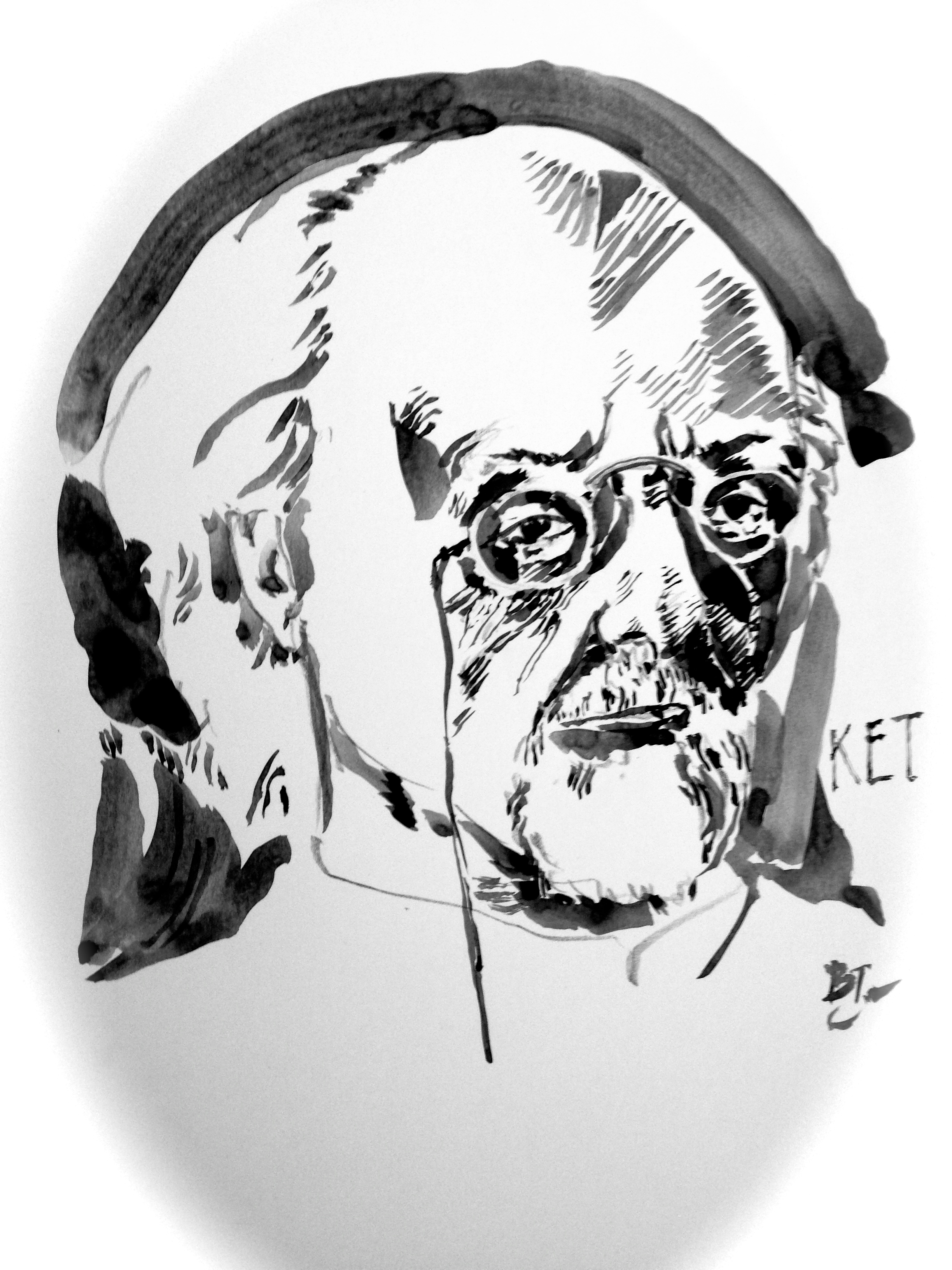 2448x3264 Pen Portraits Konstantin Tsiolkovsky Physicist, Kinetic Theory
