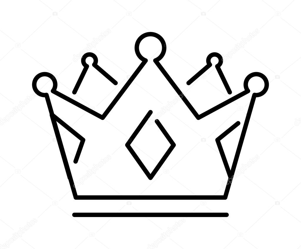 1023x849 Crown Of The King Or Royal Crown Line Art Icon Apps Websites