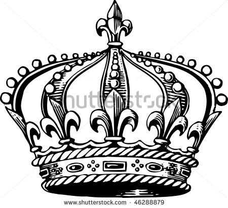 King And Queen Crown Drawing At Getdrawings Com Free For Personal