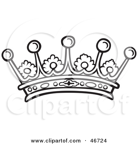 450x470 King And Queen Crown Drawings