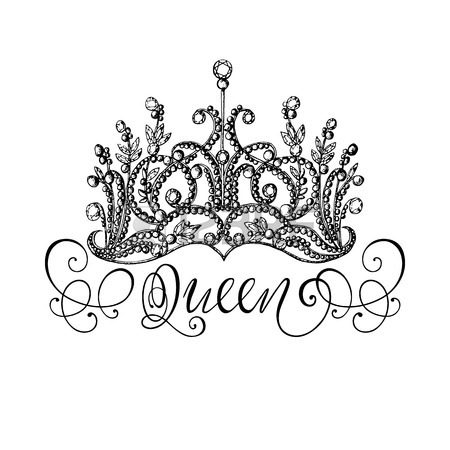 Queen Crown Sketch King And Queen Crown D...