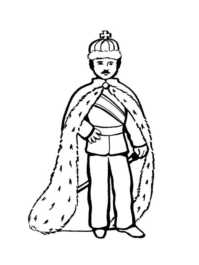 683x911 King (Characters) Printable Coloring Pages