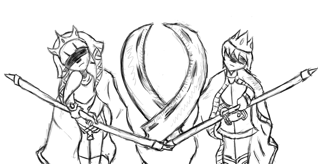 1024x530 King And Queen Minion Sketch By Armorcooler21