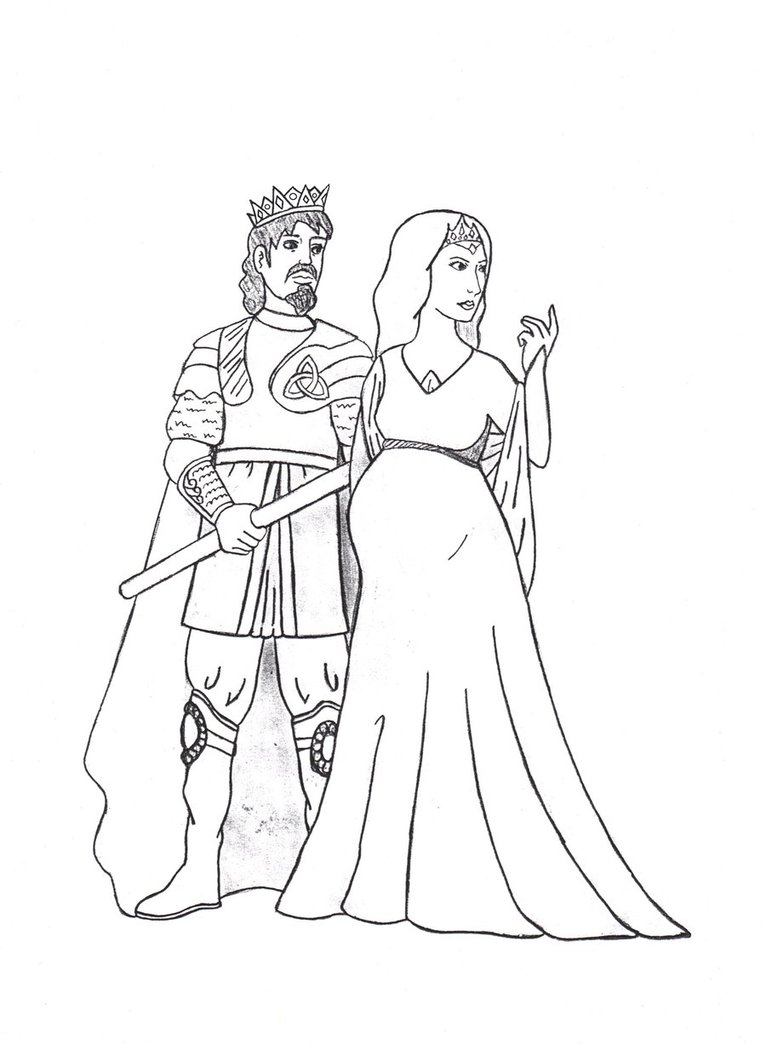 766x1044 King Cornelius And Queen Katerina By Dragonlady027