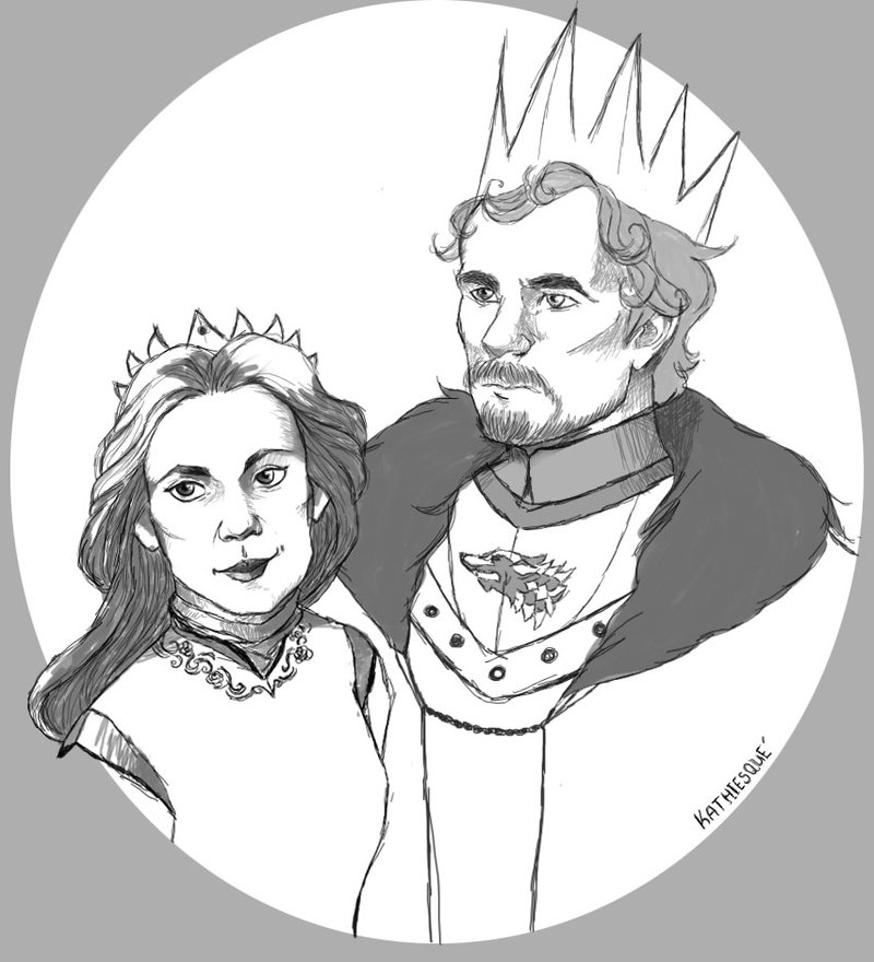 800x880 The Wolf King And The Queen Of Roses By Toloveabeast